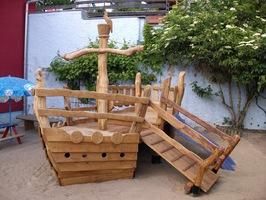 Kinderspielplatz für Garten Krippe oder Kindergarten