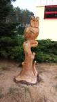 Ein ebenso oft und gern geschnitztes Wildtier aus Holz