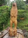 Der Bär ist der Klassiker unter den Künstlern , die mit der Kettensäge bzw Motorsäge schnitzen.